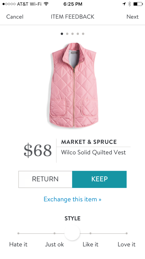 Market & Spruce Wilco Solid Quilted Vest