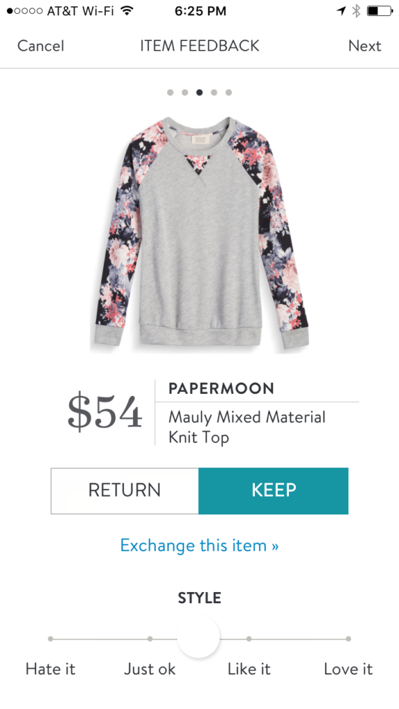 Papermoon Mauly Mixed Material Knit Top